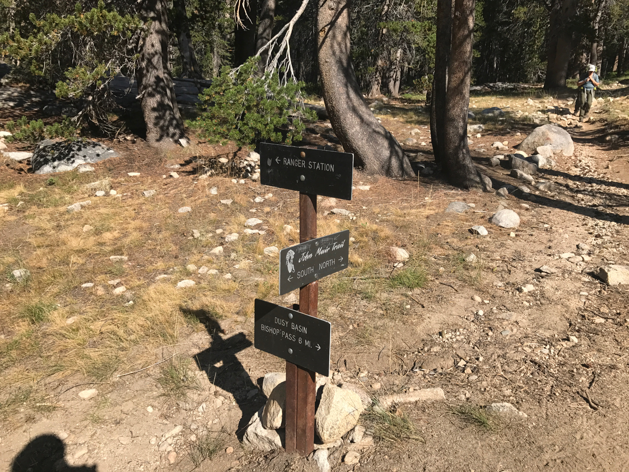 Bishop Pass Trail Junction