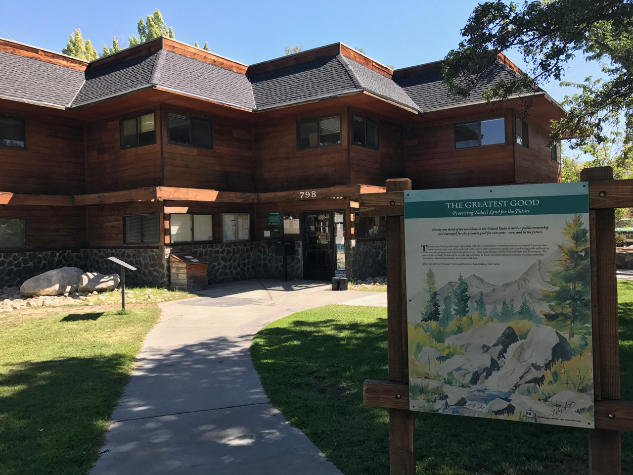 White Mountain Ranger Station Visitor Center