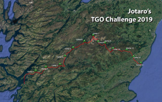 Jotaro's TGO Challenge 2019