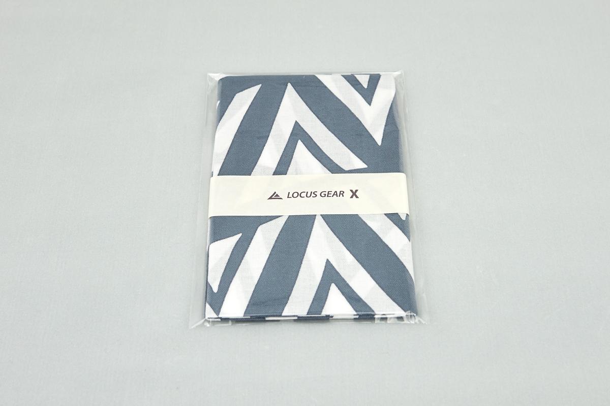 LOCUS GEAR X Logo Tenugui Japanese Towel